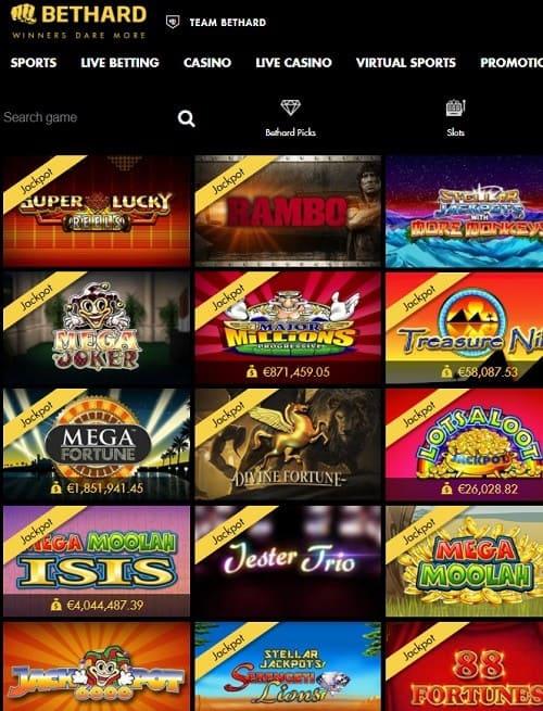 Bet hard casino