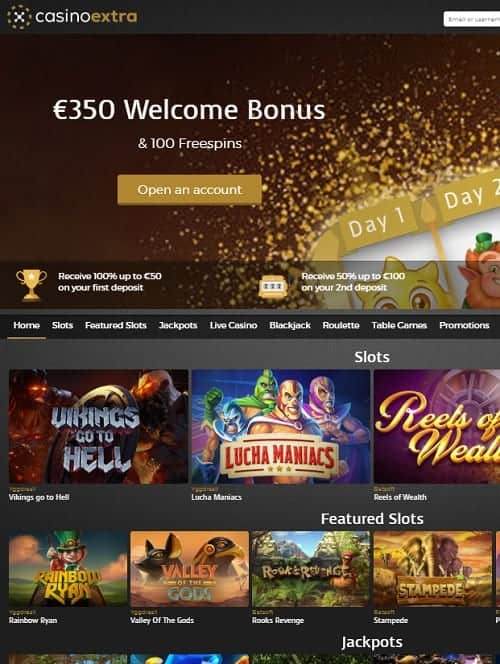 CasinoExtra.com Review