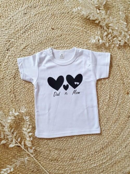 Shirt zwangerschapsaankondiging tweeling