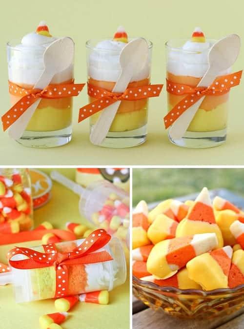 Candy Corn Halloween Treats & Recipes