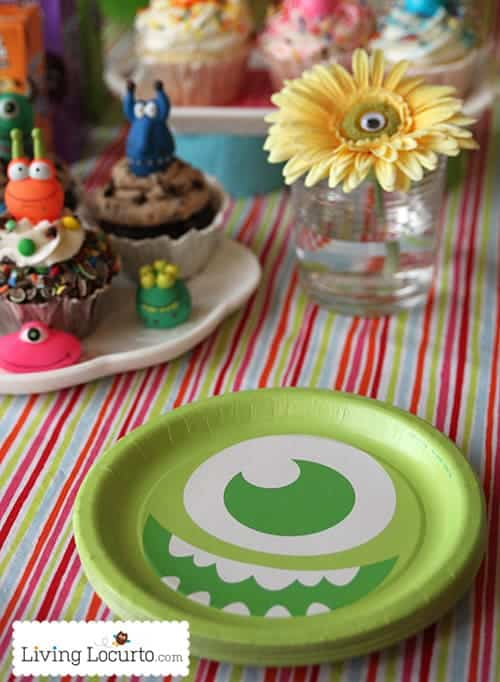 Monster Party Ideas with Free Party Printables for Boys and Girls by Amy Locurto. LivingLocurto.com