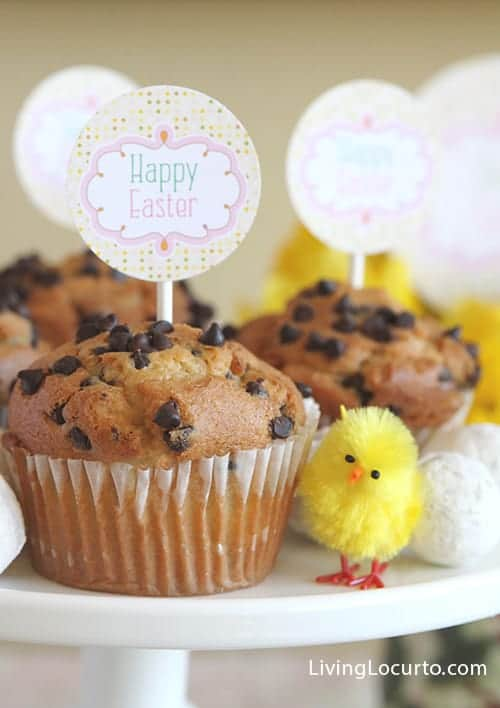 Easy Easter Breakfast Ideas with Free Printables