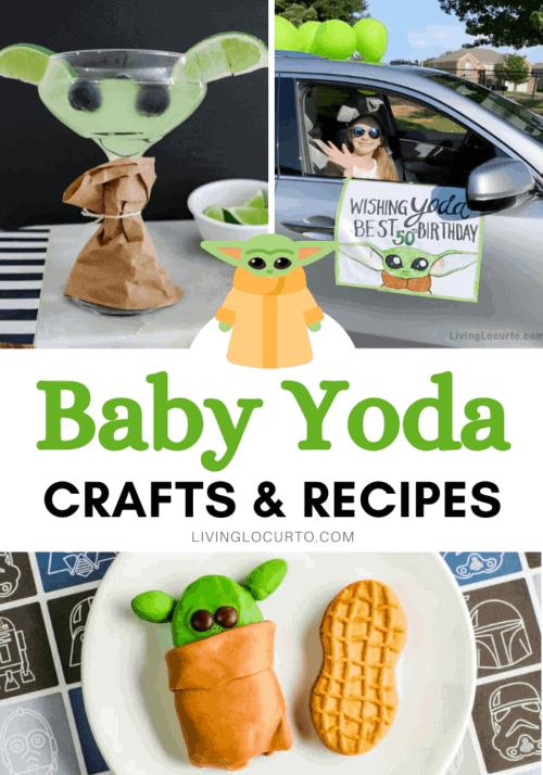 Easy Baby Yoda Crafts - The Mandalorian Party Ideas and Recipes