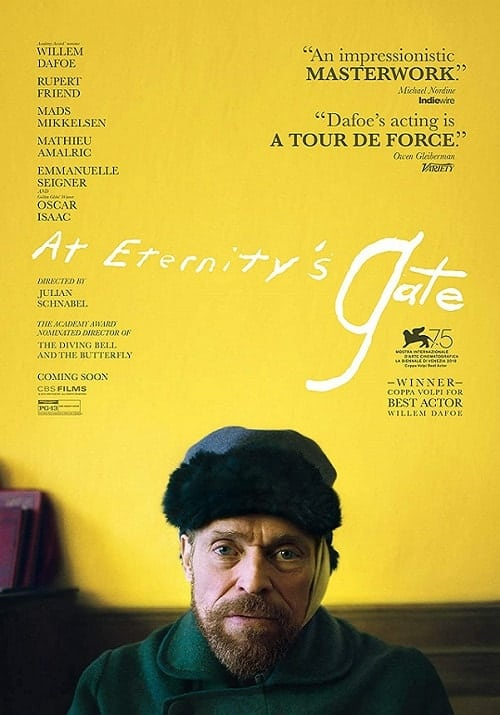 At Eternity's Gate (2018) . Watchlist
