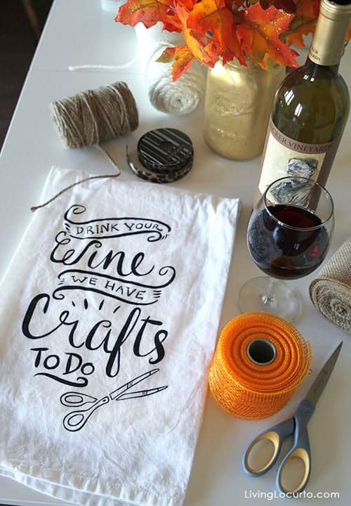 Holiday Craft Party Tips. How to make crafts for DIY Gifts. LivingLocurto.com