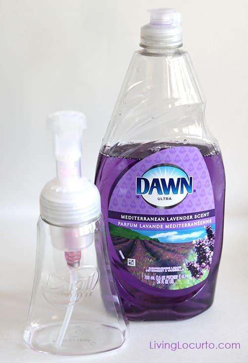 How to Make Foaming Hand Soap - photo of Dawn dishwashing soap