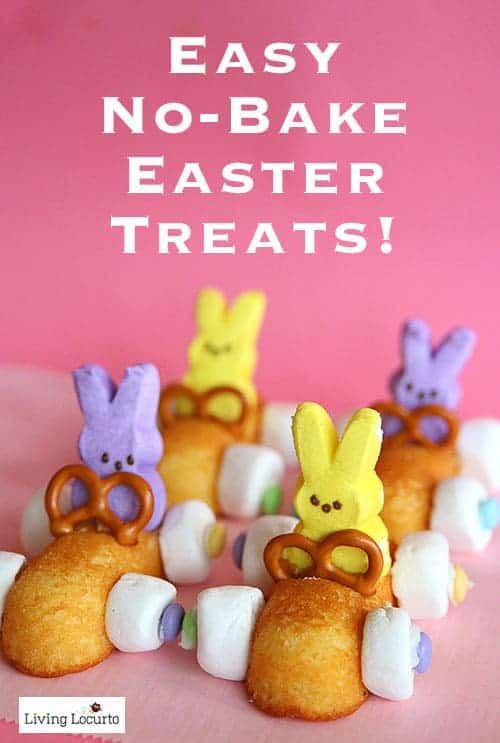 35 Best Easter Crafts and Recipes - Peeps rabbit race cars