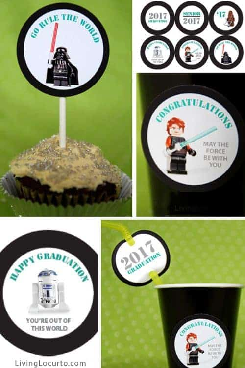 Graduation Party ideas and printables - Fun Star Wars Party Ideas