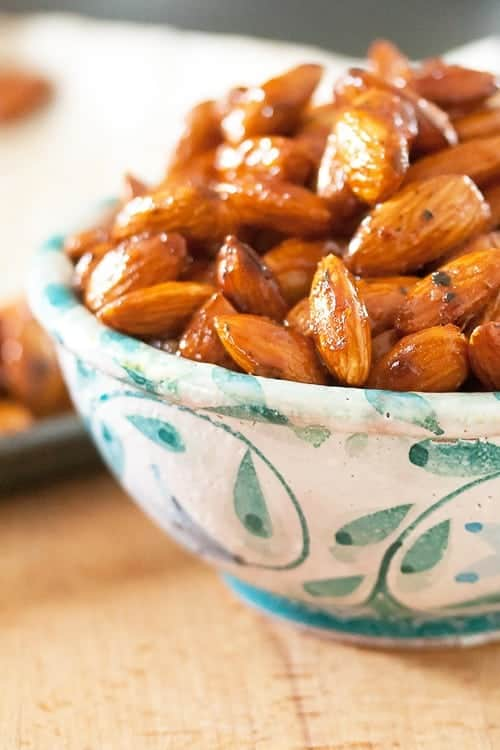Honey-Thyme Roasted Almonds