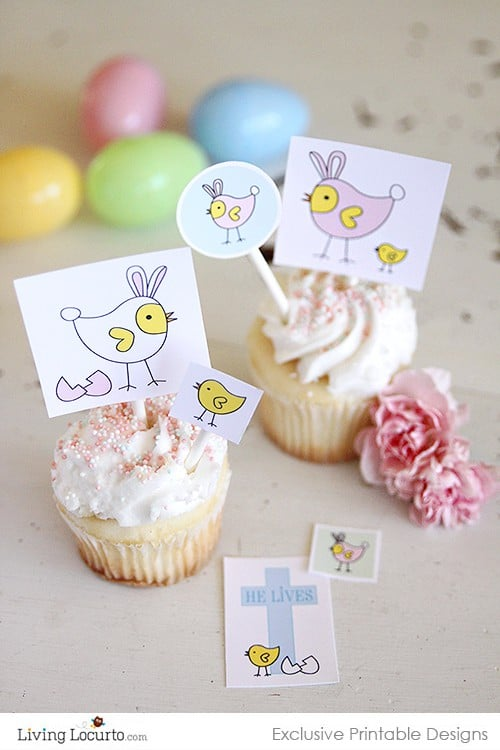 Baby Chicks Easter Printables | Living Locurto Fun Club