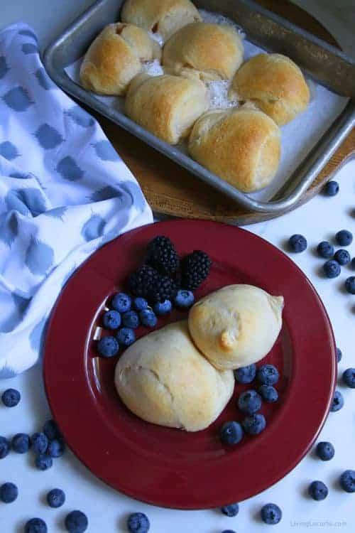Hocus Pocus Buns - Easy Recipe with Crescent Rolls