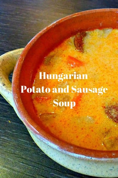 Sausage and Potato Soup