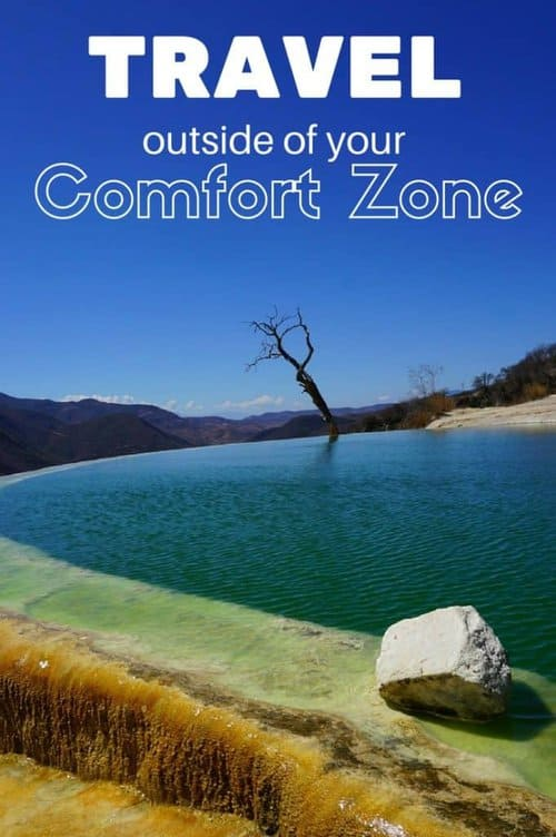 Travel Outside Comfort Zone