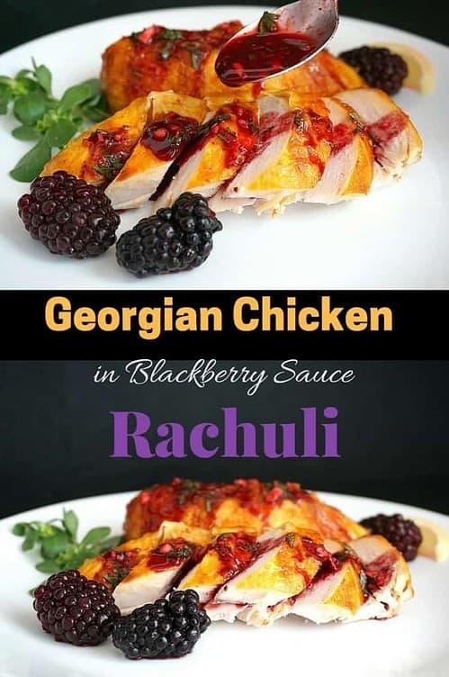 georgian blackberry rachuli chicken