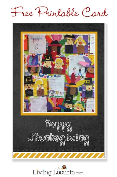 Free Printable Happy Thanksgiving Card LivingLocurto.com