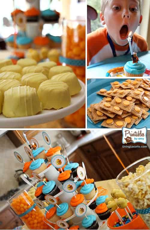 Lego Birthday Party Ideas and Fun Party Printables! LivingLocurto.com
