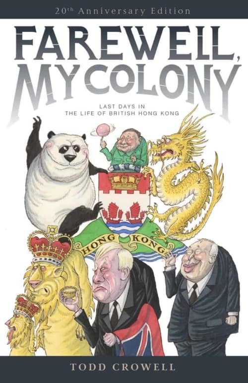 Book cover image - Farewell My Colony