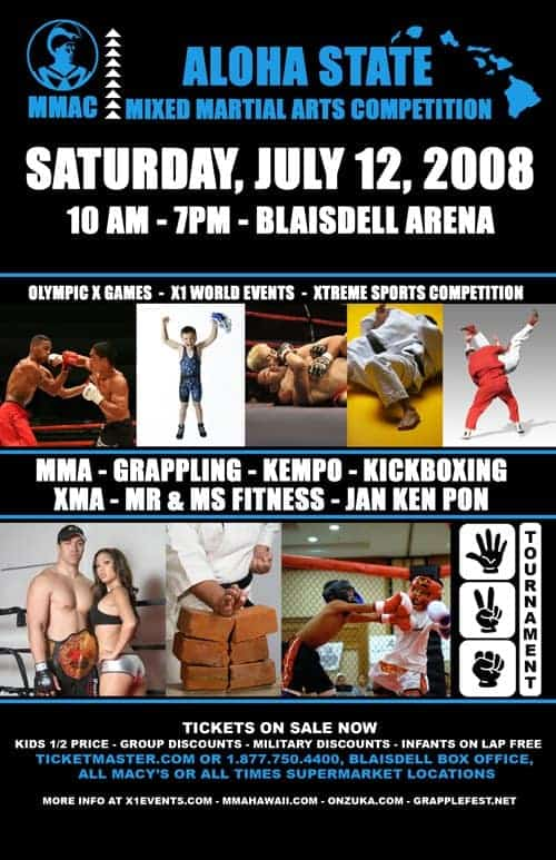 "X1 #16 ""MMAC"" Mixed Martial Art Competition July 12, 2008"