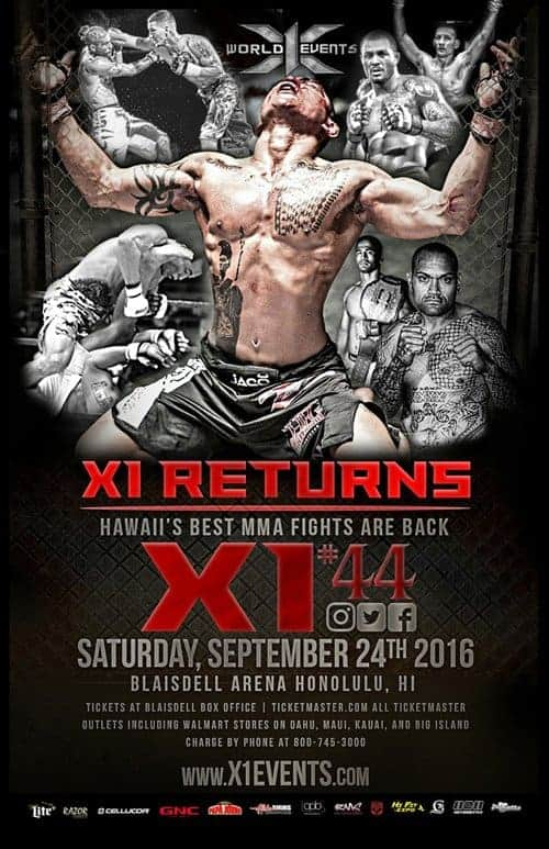 X144 Returns Fight Results
