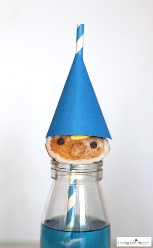 Gnome Donut Gnomeo Boy Blue Gnomes Treat