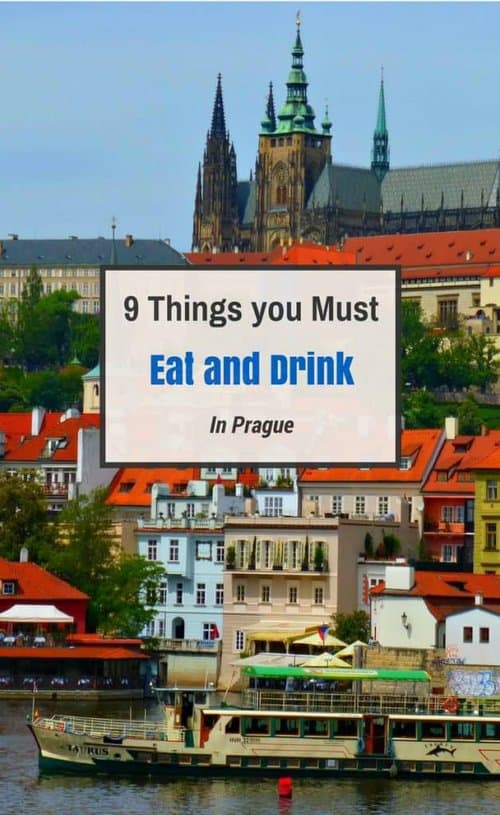 Things to eat and drink in Prague
