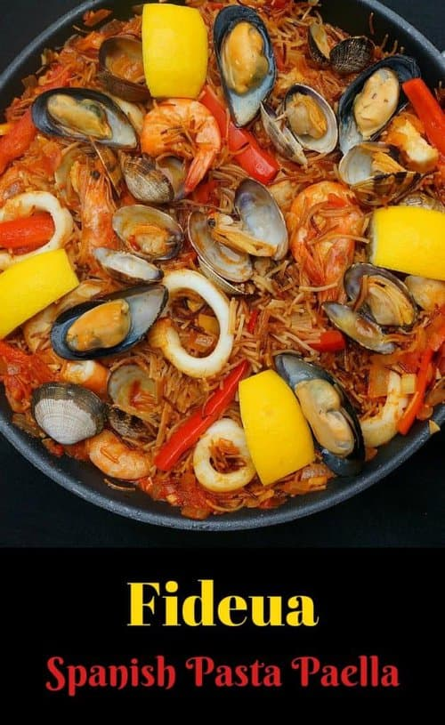 Seafood Pasta Paella - Fideua