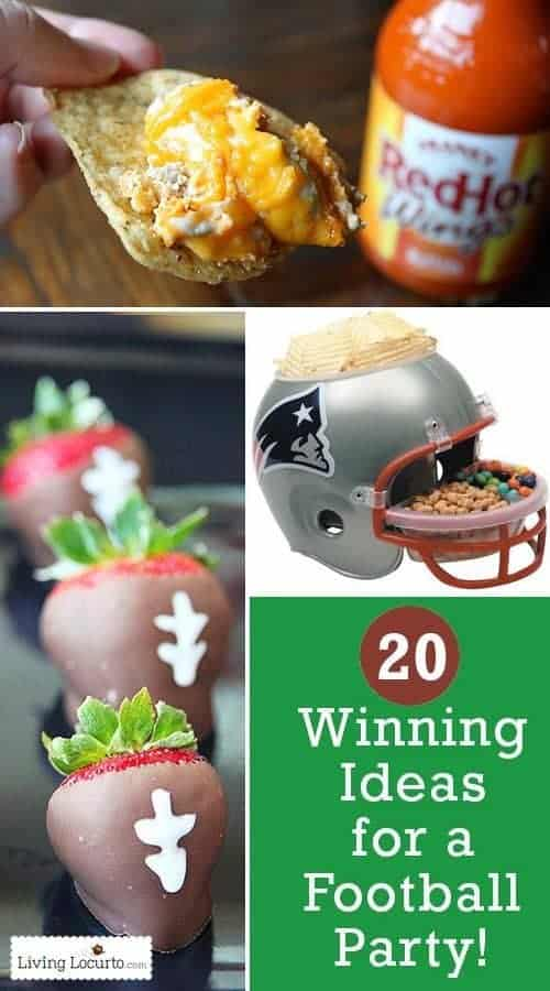 Winning Ideas for a Football Party!