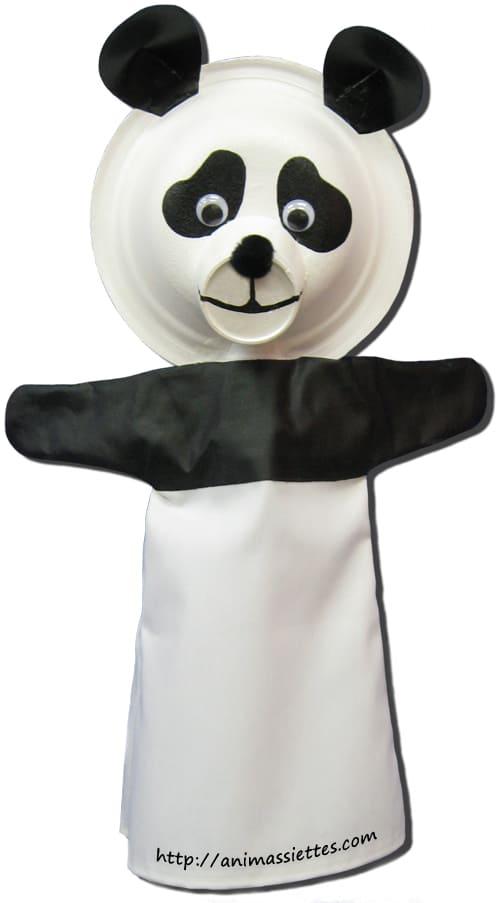 Comment faire une marionnette panda