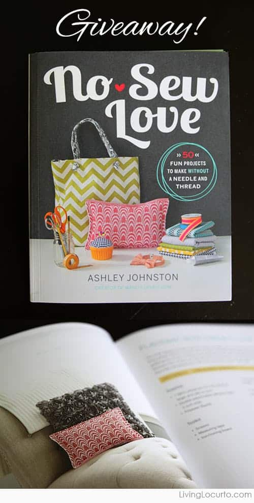 No-Sew Love Book Giveaway