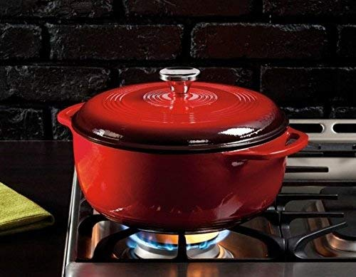 Lodge Coloured Dutch Oven with Enamel Coating