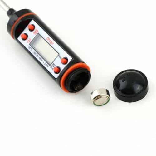 Termómetro de alimentos bateria