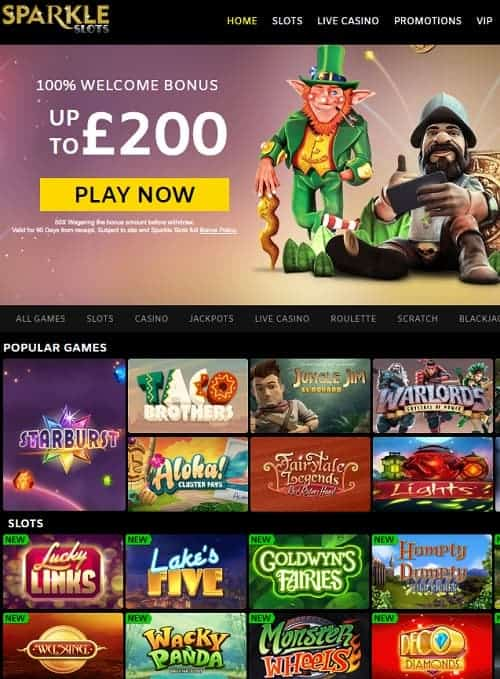 Sparkle Slots Casino Review