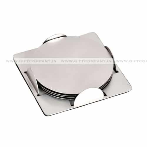 Round Steel Coaster