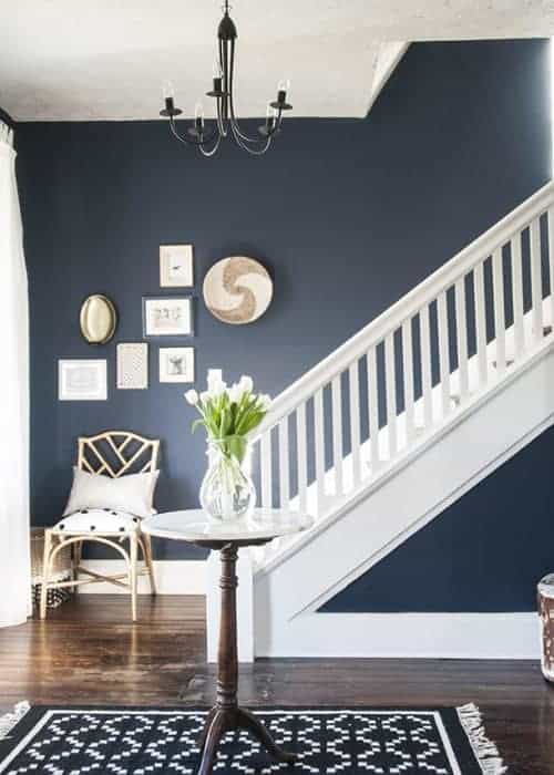 The best navy paint for walls