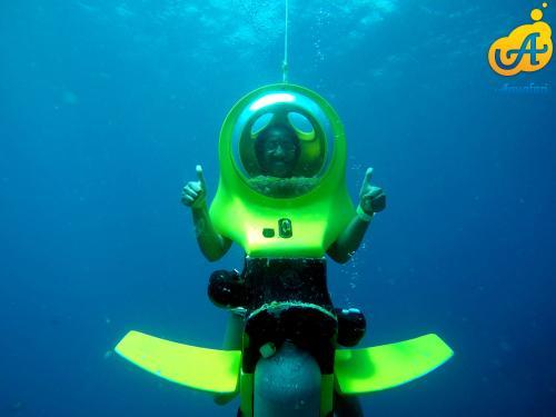 Aquafari Curacao Thumbs up