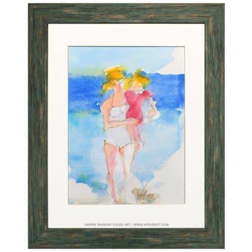 Beachin' Babes ©Yakira Shimoni Fulks—Kiras Art and Poetry