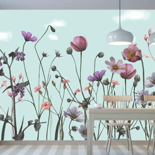 Urządzamy kuchnie - Fototapety na wymiar-Kwiaty Polskie