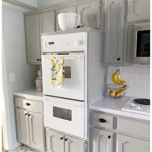perpetual gray kitchen cabinets