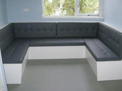 Угловой диван на кухню 013