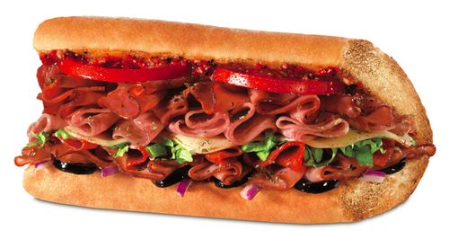 Quiznos classic Italian sub just 2.99 all July and August