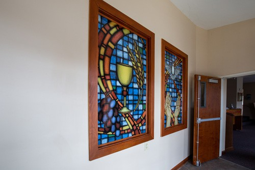 Digitally Printed Stained Glass