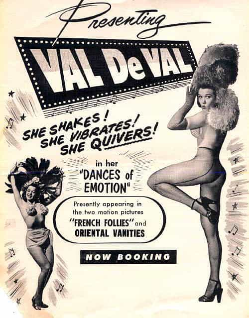 Flyer for Val de Val show