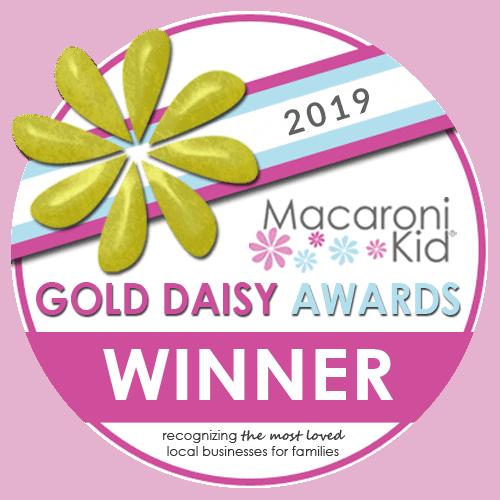 Gold Daisy award badge
