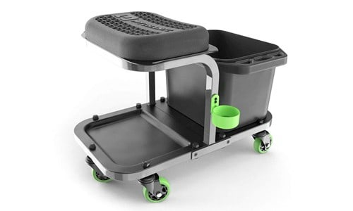 ultimate car wash caddy with seat
