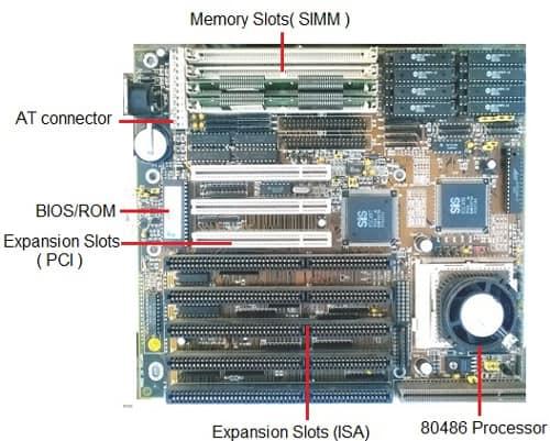 motherboard type-486