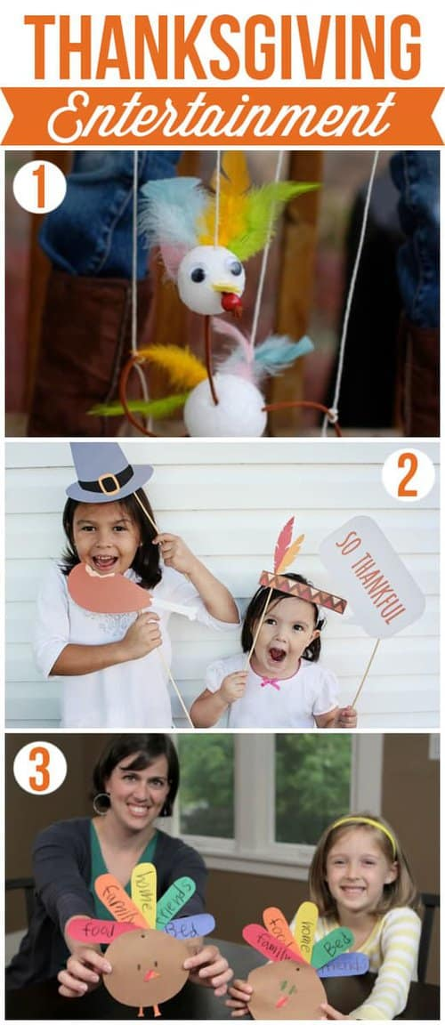 10 Thanksgiving Ideas - Recipes, Decor and Kids Craft Activities to make your holiday more memorable! LivingLocurto.com