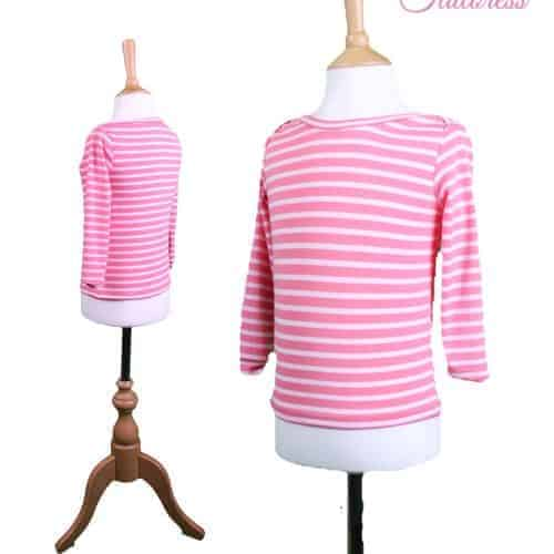 The Tailoress PDF Sewing Patterns - Arabella Top PDF Sewing Pattern for Children aged 1-6 years