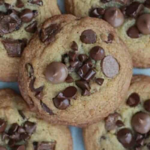 Thick and Chewy Chocolate Emergency Cookies