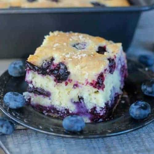 Buttermilk Blueberry Explosion Cake!