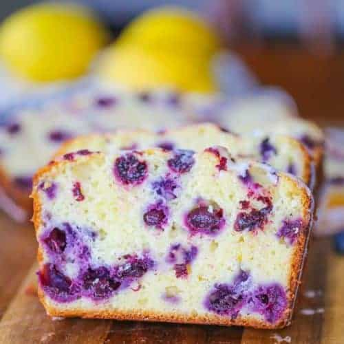 Lemon Blueberry Explosion Loaf